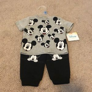 New With Tag - Mickey Mouse 3-6M Set
